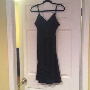 Micheal Kors blk slip dress.